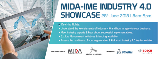 MIDA-IME Industry 4.0 Showcase
